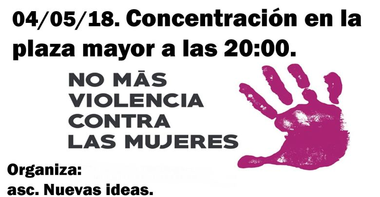Photo of Concentración en la Plaza Mayor de Benavente por la muerte de Leticia