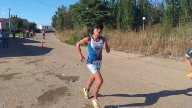 Photo of Pepa García tercera Absoluta en el Triatlón de Lantadilla (Palencia)