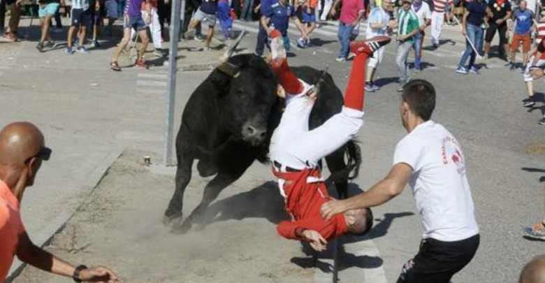 Photo of Dos heridos y un caballo muerto en el Toro de la Vega de Tordesillas