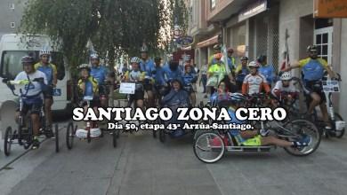 Photo of Iván Bragado y Discamino cumplen con el reto del Roma-Santiago