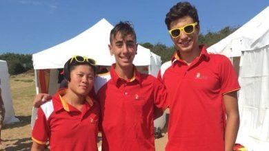 Photo of Javier Huerga, Iván Romero e Iria Ley, vuelven de los Juegos Náuticos Atlanticos con tres bronces y una plata