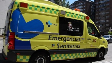 Photo of Un herido a la altura de Villanueva de Azoague tras chocar una furgoneta y un coche