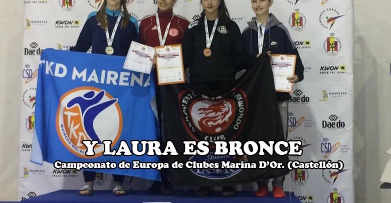 Photo of Laura Pérez también consigue colgarse una medalla en el europeo
