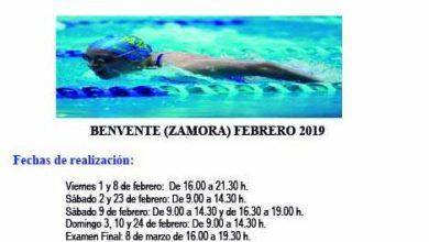 Photo of Curso para formarse como monitor de natación en Benavente