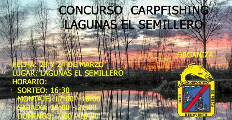 Photo of Concurso de Carpfishing en las Laguas El Semillero del CD de Pesca de Benavente