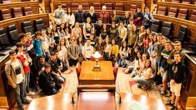 Photo of Los alumnos de 1º Bachillerato del IES León Felipe visitan Madrid