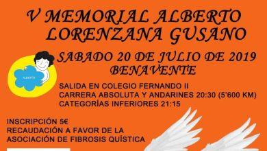 Photo of V Memorial Alberto Lorenzana Gusano a favor de la Fibrosis Quística