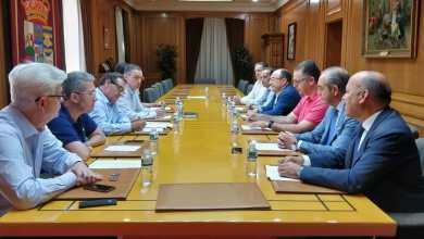 Photo of Los vicepresidentes de la Diputación Provincial se reúnen con la directiva de Zamora10