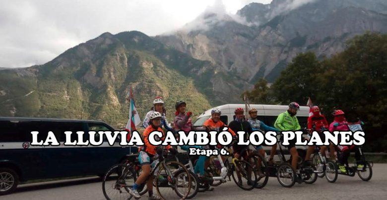 Photo of La lluvia obligó a Discamino a dejar el Col du Galibier para hoy lunes