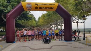 Photo of Ismael Álvarez y Teresa Herráez vencedores en la XXII Carrera Popular El Caracol de Benavente