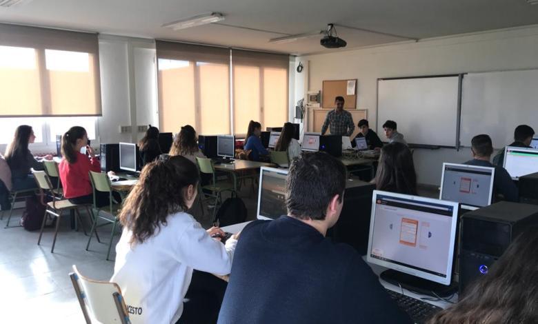 Photo of Los alumnos de Los Sauces trabajan por combatir el cambio climático