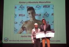 Photo of Javier Huerga mejor socorrista junior y absoluto de Castilla y León