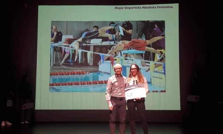 Photo of Carolina Ganado mejor socorrista de la categoría absoluta de Castilla y León