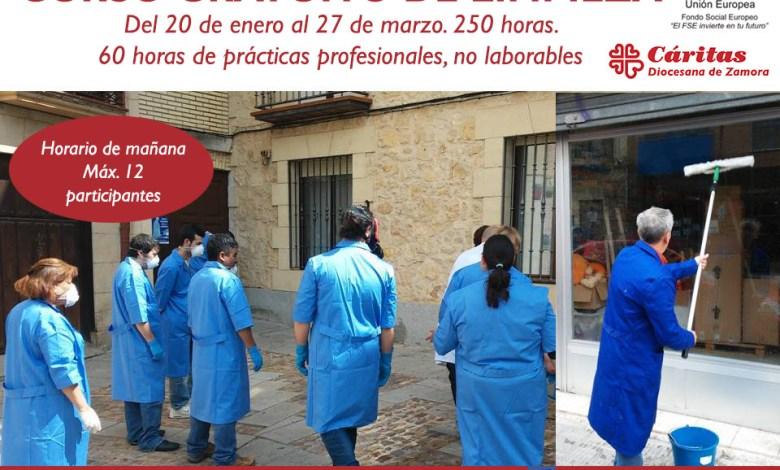 Photo of Cáritas lanza un nuevo curso gratuito de «limpieza» para desempleados