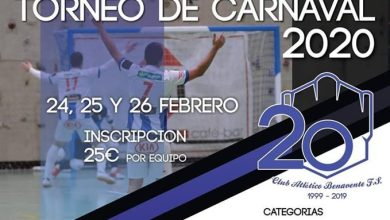 Photo of Horarios y equipos del Torneo de Carnaval del Atlético Benavente FS