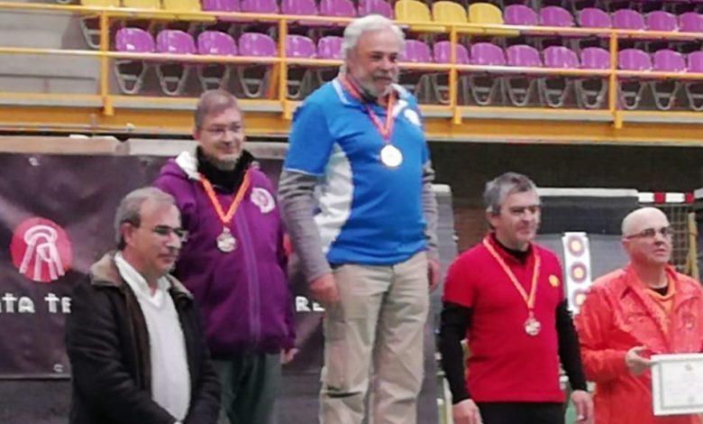 Photo of Bernardo Martínez campeón de Castilla y León en arco instintivo