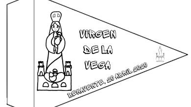 """Photo of """"La Vega"""" honra a su Patrona desde sus casas con banderines propios"""
