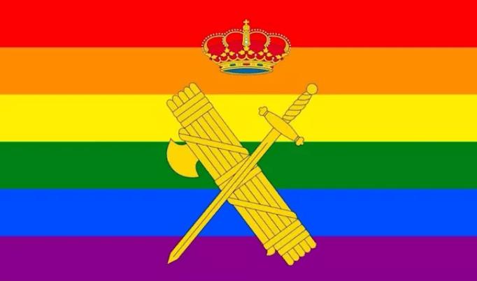 Photo of Abogados Cristianos presenta una querella contra la directora de la Guardia Civil por poner la bandera LGTBI en Twitter