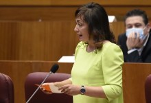 """Photo of María Teresa Gago: """"La Consejería de Transparencia es clara y concisa. Aún estamos esperando que el Gobierno central lo sea"""""""