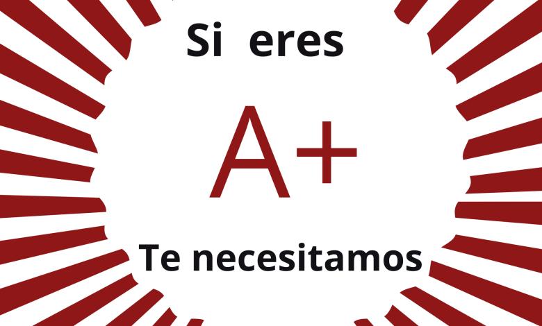 Photo of Se necesitan urgentemente donantes de A+