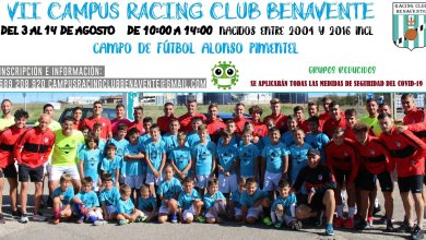 Photo of Inscripciones abiertas para el VII Campus de verano del Racing Club Benavente