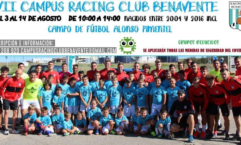 Photo of Inscripciones abiertas para el VII Campus de verano del Racing Club Benavente