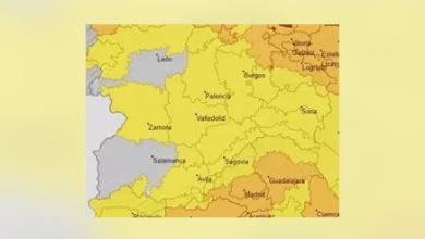 Photo of Todas las provincias de CyL en aviso amarillo por altas temperaturas y siete de ellas además por tormentas