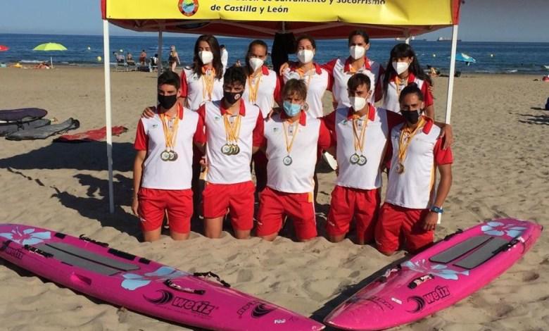 Photo of Castilla y León finaliza cuarta en el Campeonato de España de Salvamento y Socorrismo por Comunidades Autónomas celebrado en Castellón