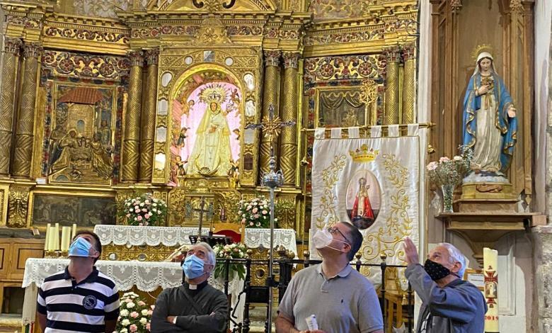 Photo of El santuario de la Carballeda restaura su cúpula barroca
