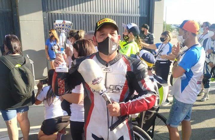 Photo of Pódium para Carlos Blanco en el Campeonato de España de Superbike Handy ESBK