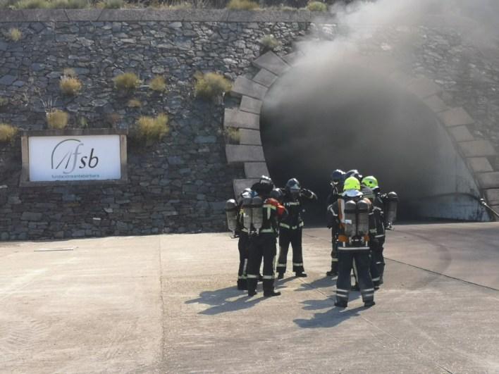 Bomberos Del Consorcio Provincial Se Instruyen En Tecnicas De Intervencion En Incendios Y Rescates En Tuneles Benavente Digital