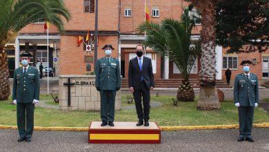 Photo of Héctor David Pulido, toma posesión de su cargo como Teniente Coronel Jefe de la Guardia Civil en Zamora