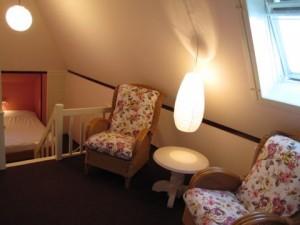 Kamer 3: 1 x 2 Romantische kamer