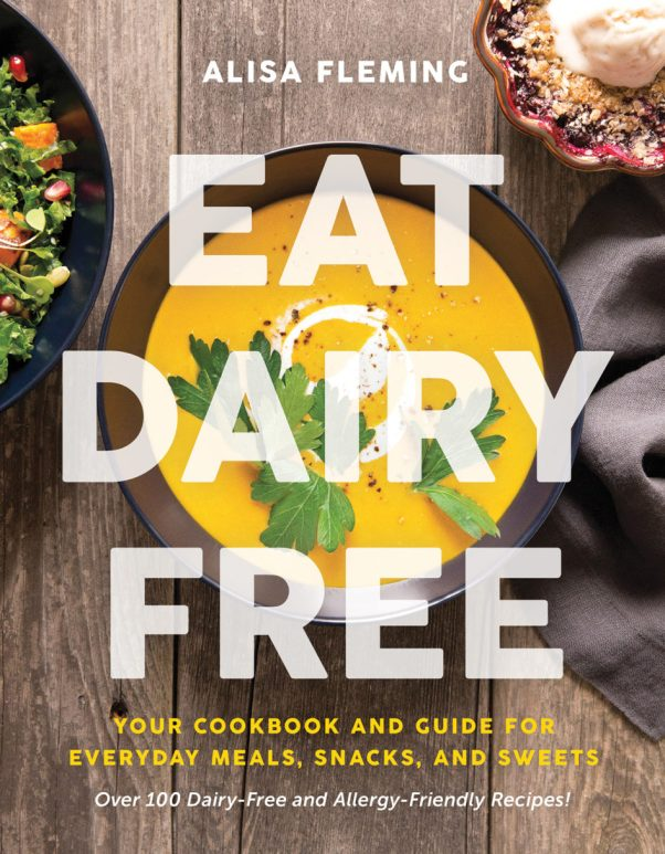 Eat Dairy Free cookbook cover