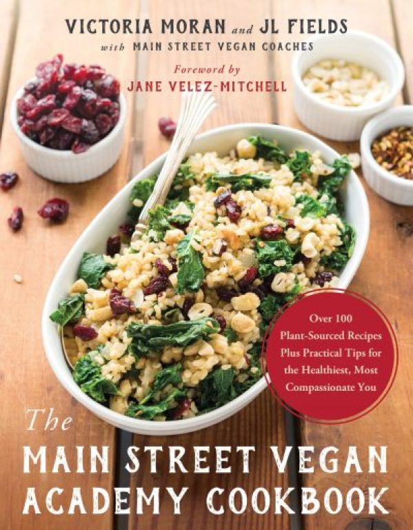 The Main Street Vegan Academy Cookbook cover