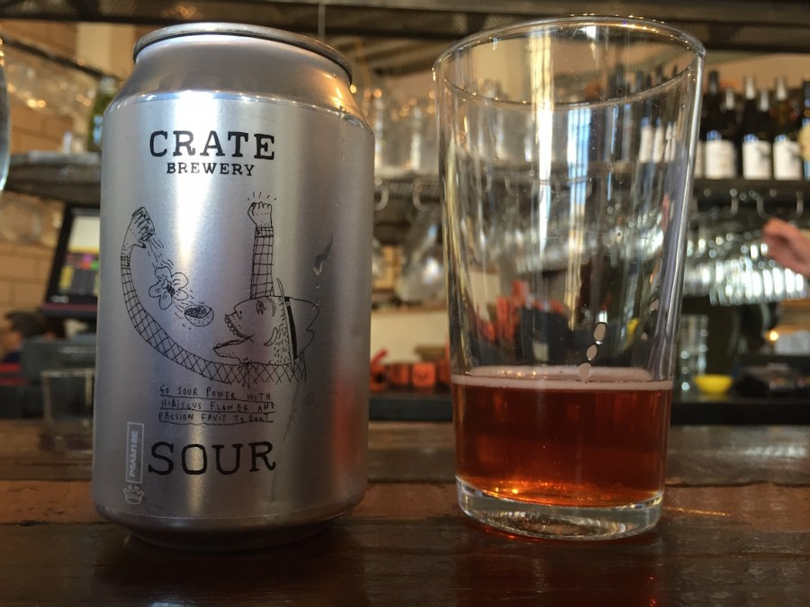 crate sour beer