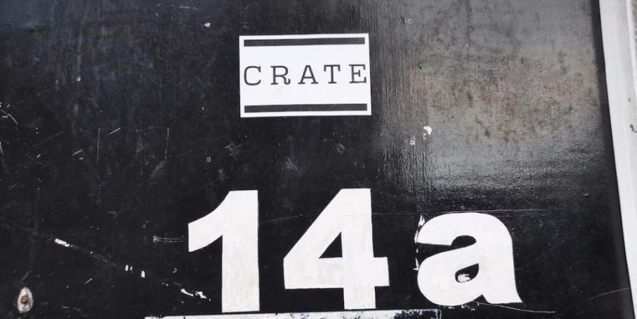 crate brewery door