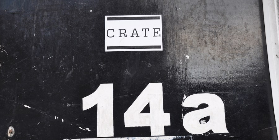 crate brewery door