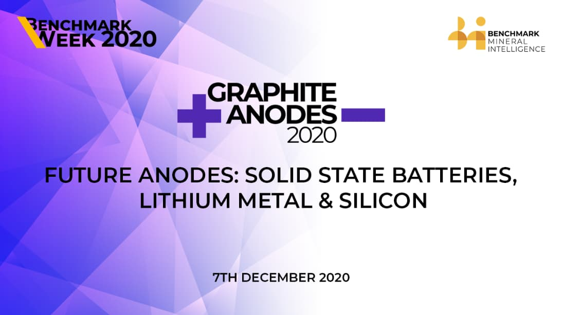 Future Anodes: Solid State Batteries, Lithium Metal & Silicon