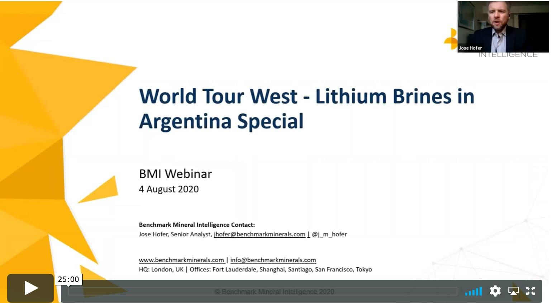 Lithium Brines in Argentina