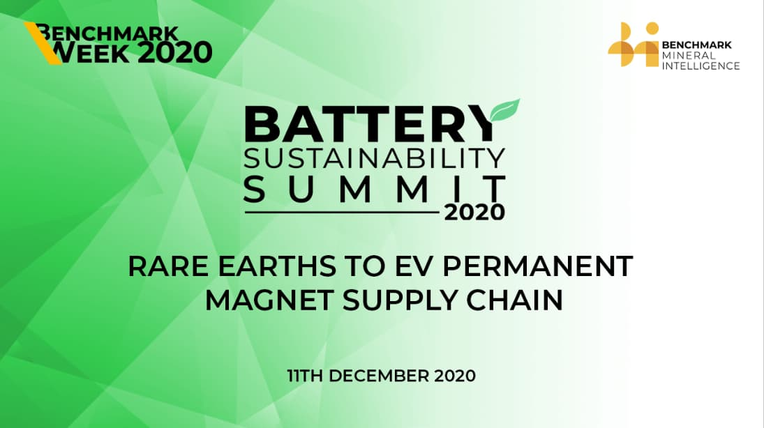 Rare earths to EV permanent magnet supply chain