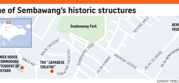 Sembawang is the gateway to Singapore historic past