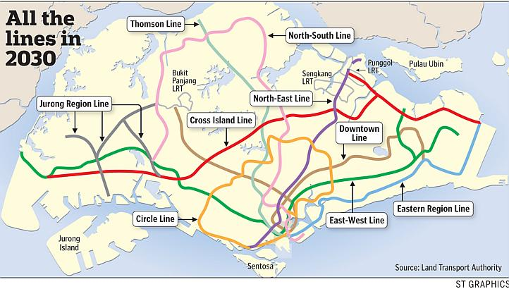Singapore-MRT-Lines-in-2030