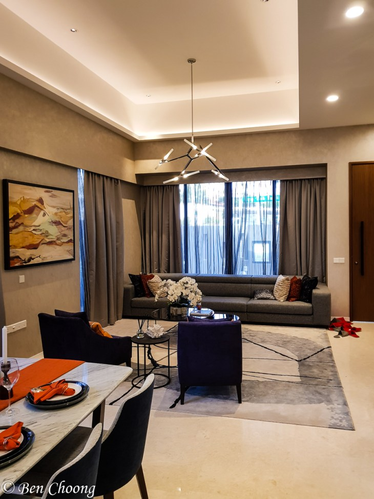 Kismis Residences - high ceiling at first floor