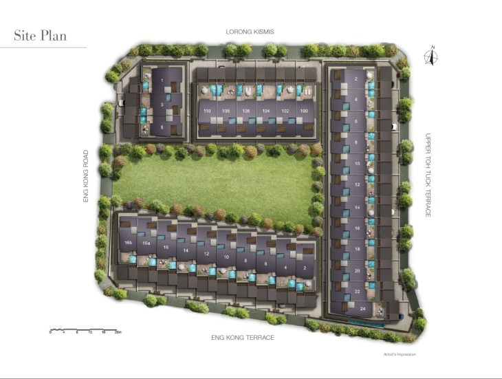Kismis Residences Freehold Landed Property