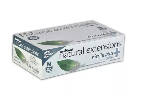natural extensions nitrile plus Box of Gloves Picture