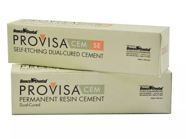 PROVISA CEM Permanent Resin and Self-etching Dual-cured Cement Picture