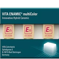 Vita enamic multicolor blocks for dental milling machines