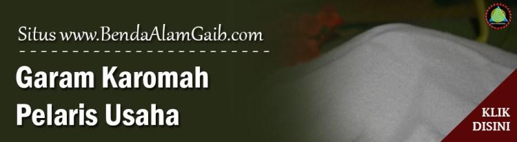 Produk Spiritual Mustika - Garam Karomah Pelaris Usaha - Benda Alam Gaib