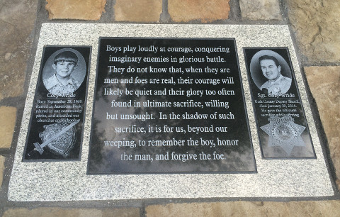 Cory Wride Memorial